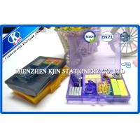 China 3 Colors Rectangle Mini Office Stationery List with Stitcher and Stitching Needle on sale