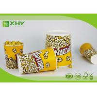 Buy cheap Colorful Design Custom Disposable Paper Buckets For Popcorn And Fried Chicken Drumstick product