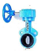 Buy cheap Cast Iron Flanged Butterfly Valve / Light Weight Sanitary Butterfly Valve product