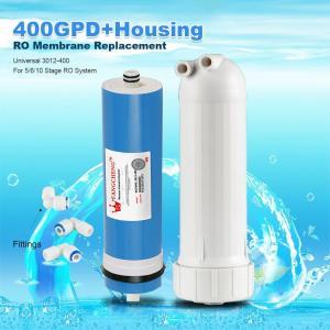 Buy cheap 400GPD Umkehrosmose Wasser Filter Ersatz + Gehäuse RO Membran Universal HOT from wholesalers