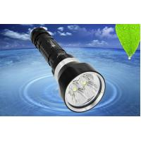 Buy cheap Professional Underwater 100m LED Dive Torch 6500k Underwater Flashlight from wholesalers