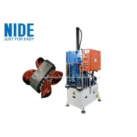Buy cheap Automatic Stator Metal Wire Winding Coil Pre-Forming Machine / Equipment product