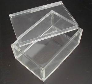 Buy cheap Acrylic Box  Lucite case  Plexiglas Box product