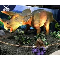 Buy cheap Water Resistant 4 Meters Large Realistic Dinosaur Models For Museum / Square product