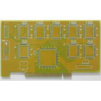 Buy cheap Professional ENIG FR4 base gold finger board , multilayer hdi pcb circuit board UL , RoHS product