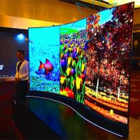 China Various Size Digital Advertising Screens Floor Stand Type With OLED Android System on sale