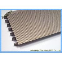 Buy cheap Heavy Gauge Metal Wire Mesh , Stainless Steel Grid Mesh Strainer Basket Wedge Wire Slotted product
