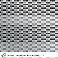 Buy cheap Stainless Steel 316 Perforated Metal  Round Hole Staggered Type with 1mm Thickness product