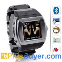 """Buy cheap Terminal - 1.5"""" Touchscreen Watch Cell Phone (Quadband, Bluetooth) product"""
