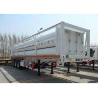 Buy cheap High Pressure CNG Gas Cylinder , Seamless Cng Storage Tanks Semi - Trailer product