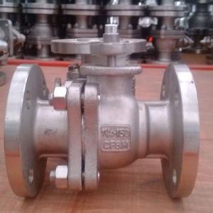 Buy cheap API flange ball valve for power station product
