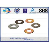 Buy cheap Spring Steel Washers / Double Coil Spring Washers For Rail Sleeper screw product