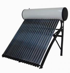 Ennegrezca el calentador de agua solar de alta presión galvanizado del soporte de la hoja para el cuarto de baño 200L