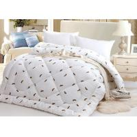 Buy cheap Warm Alternative Down Comforter , Machine Quilting Feather Down Comforter product