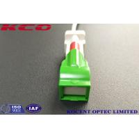 Buy cheap Automatic Shutter Connector Fiber Optic Patch Cables Single Mode LSH SC/APC LC/APC product