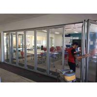 Buy cheap Pre - Finished Frameless Glass Wall 3000mm Height Satin Anodised Finished product