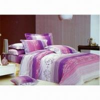 Buy cheap Printed Bed Sheet, Made of 100% Cotton Twill, Available in Various Colors and Sizes product