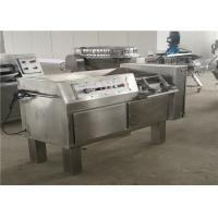 Buy cheap Stainless Steel Casing Meat Dicer Machine For Chicken / Duck 2.25KW Power product