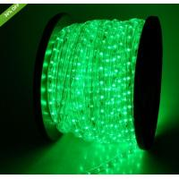 China tree decorations 2 wire 13mm round led rope flex light strip on sale