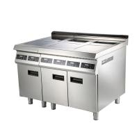 Buy cheap Fast efficiency commerical 4 Burner Induction Range with low noise from wholesalers