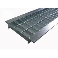Buy cheap Twisted Bar Steel Grating Drain Cover Bearing Bar Pitch 30mm Free Sample product