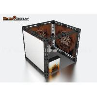 Buy cheap 10x10 Truss Trade Show Booth / Easy Set Up Portable Exhibition Booth product