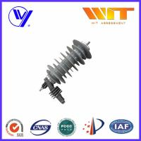 Buy cheap Polymeric Metal Oxide Surge Arrester for Substation / AC - DC Converters / Power Distribution Units product
