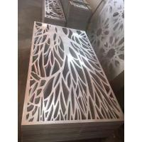 Buy cheap Decorative Metal Panels - Laser Cut screen panel stainless steel product