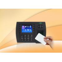 China RFID card reader Biometric Time Clock / Fingerprint Scanner Time Attendance with USB on sale