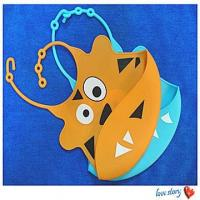 Buy cheap silicone infant apron ,cute adorable soft silicone baby bibs product
