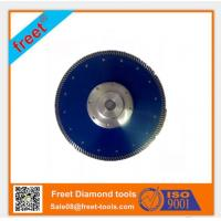 China New turbo type with Flange Diamond Cutting Saw Blades on sale