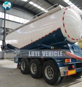 Buy cheap Tri Axles 12 wheels 45cbm Powder Tanker Bulk Cement Semi Truck Trailer product