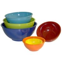 Buy cheap 5pcs melamine mixing bowl set with PP LID product