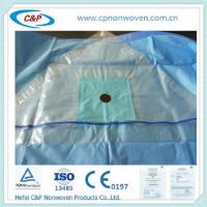 Buy cheap 使い捨て可能な外科Nonwovenの生地の先端はおおいます;FOB上海;CE&ISO13485証明 product