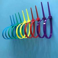 Buy cheap Free Sample Available Nylon Cable Ties Easy Use Self-locking Type In Different Colors product