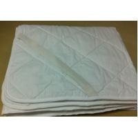 Buy cheap Plain Polyester Fabric Waterproof Mattress Covers Protectors with Four Corner Anchor Straps product