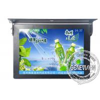 Ceiling Mounted FCC / SGS Bus LCD Advertising Players with Calendar Function