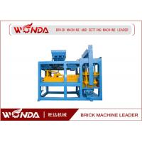 Buy cheap Fully Automatic Brick Making Machine , Concrete Block Making Machine QT6 - 15 from wholesalers
