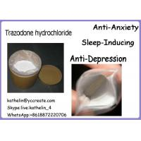 Buy cheap Antidepressant Powder Trazodone hydrochloride Anti Anxiety And Sleep Inducing 25332-39-2 product