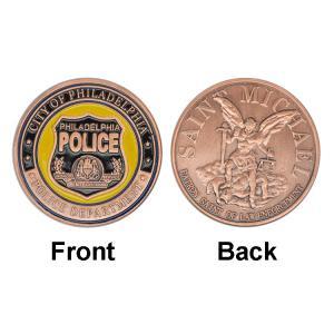 Philadelphia Police Department Souvenir Collectible Coins , Guard Commemorative Coin