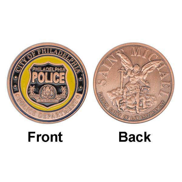 Quality Philadelphia Police Department Souvenir Collectible Coins , Guard Commemorative Coin for sale