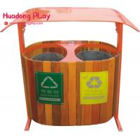 Buy cheap Classification Outdoor Trash Can for Park , outside commercial recycle trash cans with lids product