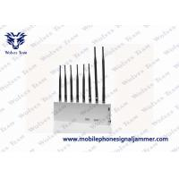 Buy cheap Multifunctional 4G Cell Phone Signal Jammer White Color For Conference Room product