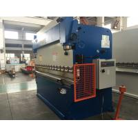 China Horizontal Hydraulic Press Brake Machine / Metal Sheet Bending Machine on sale