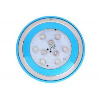 Buy cheap 12VAC Underwater Led Lights Wall Mounted IP68 SPA Stainless Steel 9W Multicolor product