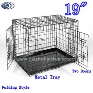 """Buy cheap 19"""" duas portas que dobram caixas do cão product"""