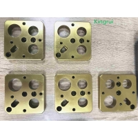 Buy cheap Milling Injection Mold Making Components VANADIS 23 Coating TiN product