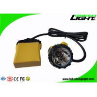 Buy cheap 10.4Ah SAMSUNG Battery Led Warning Lamp 25000lux IP68 Waterproof With Four Light Modes product