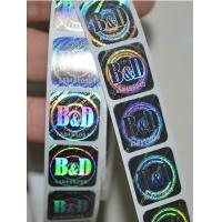 China 3D Laser Anti-Counterfeiting hologram sticker, Anti-counterfeiting Label, Anti-fake label on sale