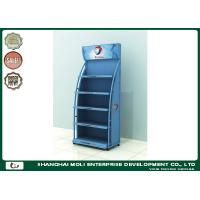 Buy cheap Red Customized Motor Oil Display Rack Shoe Racks 750mm*450mm*1800mm product